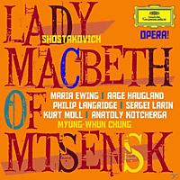Chung, Orch.Phil.Coeur..., Ewing/Haugland/Langridge/Larin/Moll/Chung/OOB/+ - Lady Macbeth Von Mzensk - [CD]