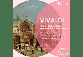 Ec, Trevor/ec/+ Pinnock - Gloria/Nisi Dominus/Stabat Mater/Salve Regina  - (CD)