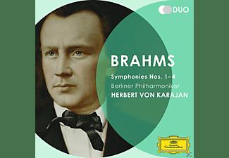 Carl August Nielsen, Herbert Von Bp/karajan - Sinfonien 1-4  - (CD)