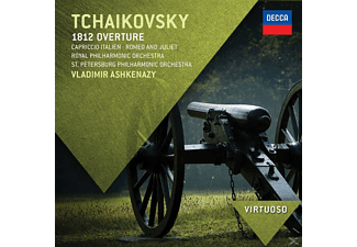 Vladimir Ashkenazy, Rpo, Spp, Vladimir Rpo/spp/ashkenazy - 1812 Overtüre, Capriccio Italien, Romeo Und Julia,  - (CD)