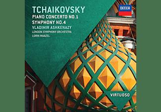 Lorin Maazel, Vladimir Ashkenazy, Lso, Ashkenazy,Vladimir/Maazel,Lorin/Lso - Klavierkonzert 1, Sinfonie 4  - (CD)