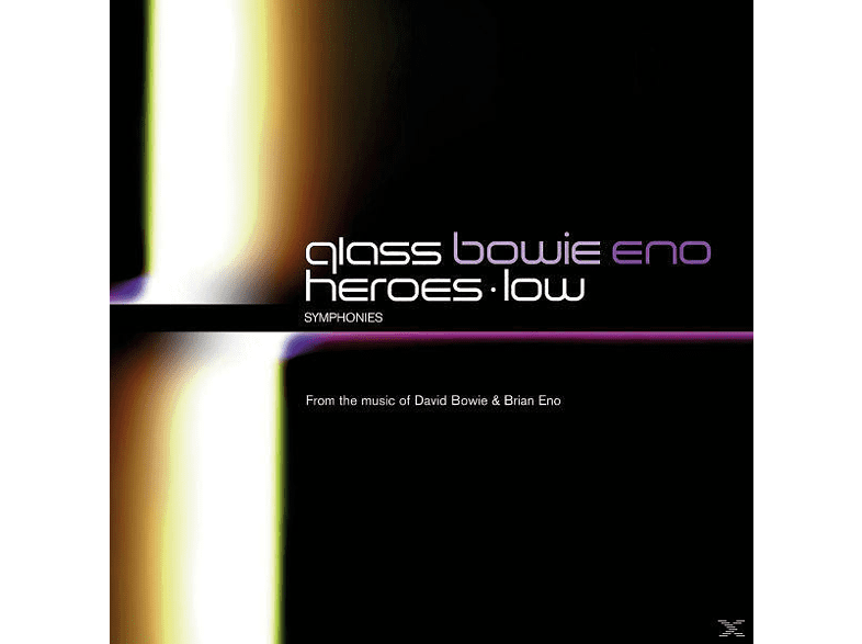 David Bowie, Brian Eno, Philip Glass, Glass,Philip/Bowie,David/Eno,Brian - Low Symphony/Heroes Symphony [CD]