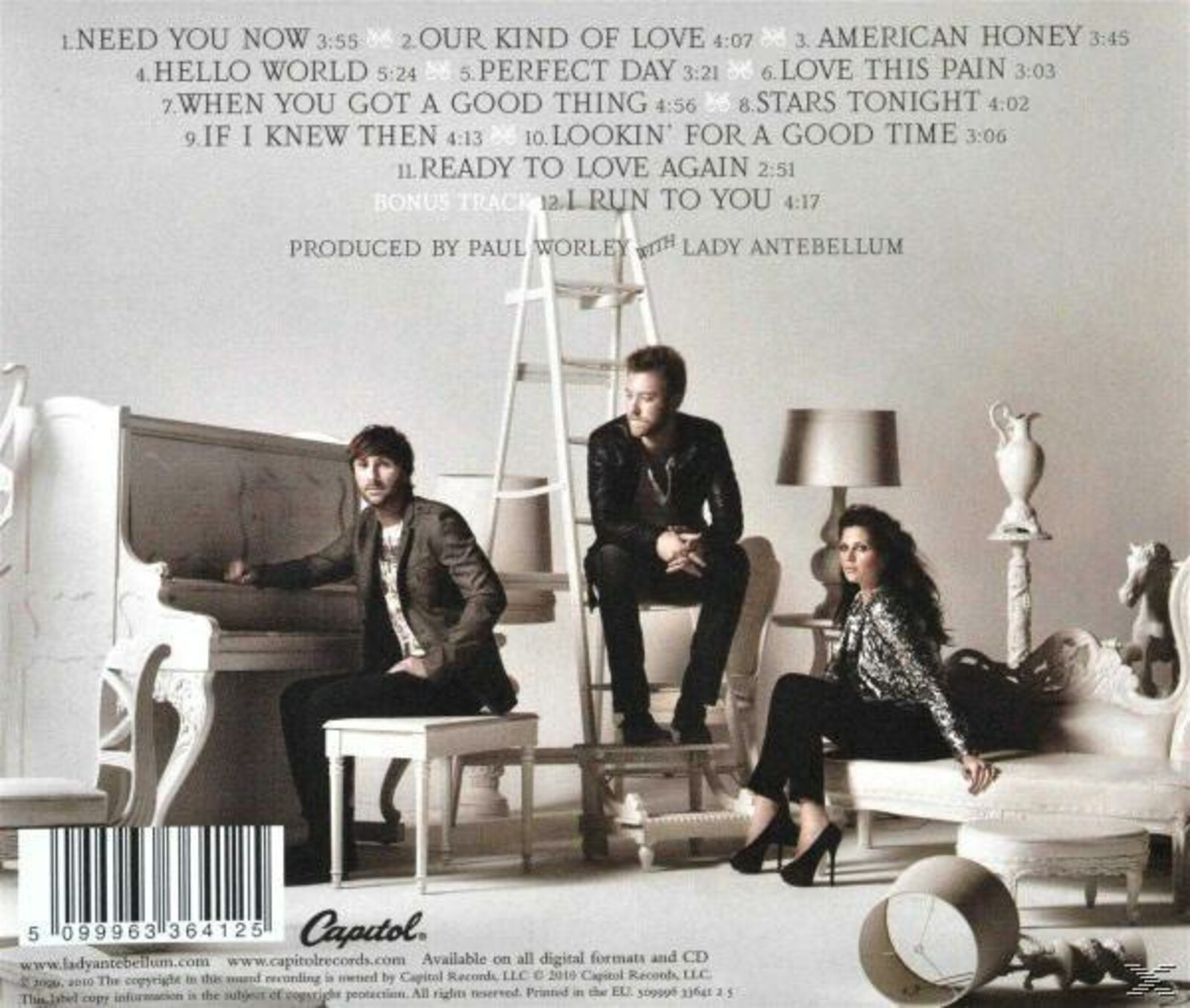 Lady Antebellum - Lady Antebellum - Need You Now [CD] 7