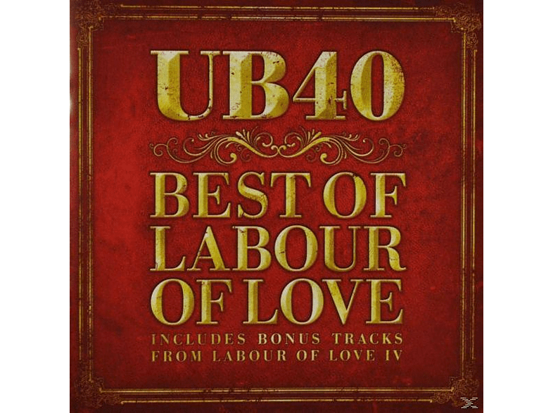 UB40 - Best Of Labour Of Love CD