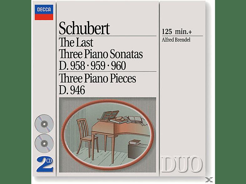 Alfred Brendel - Klaviersonaten D 958, 959, 960 [CD]