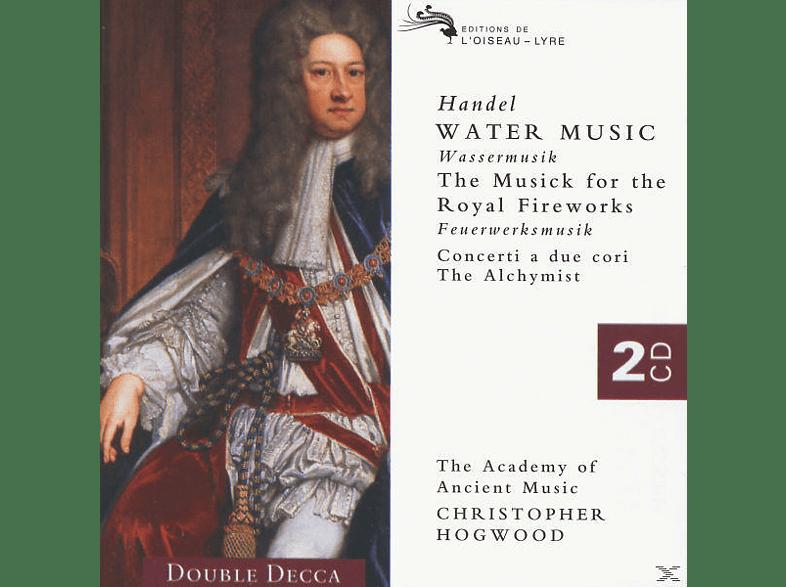 Johann Michael Haydn, Christopher/aam Hogwood - Wassermusik/Feuerwerksmusik [CD]
