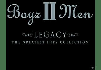 Boyz II Men - Legacy:The Greatest Hits Coll  - (CD EXTRA/Enhanced)