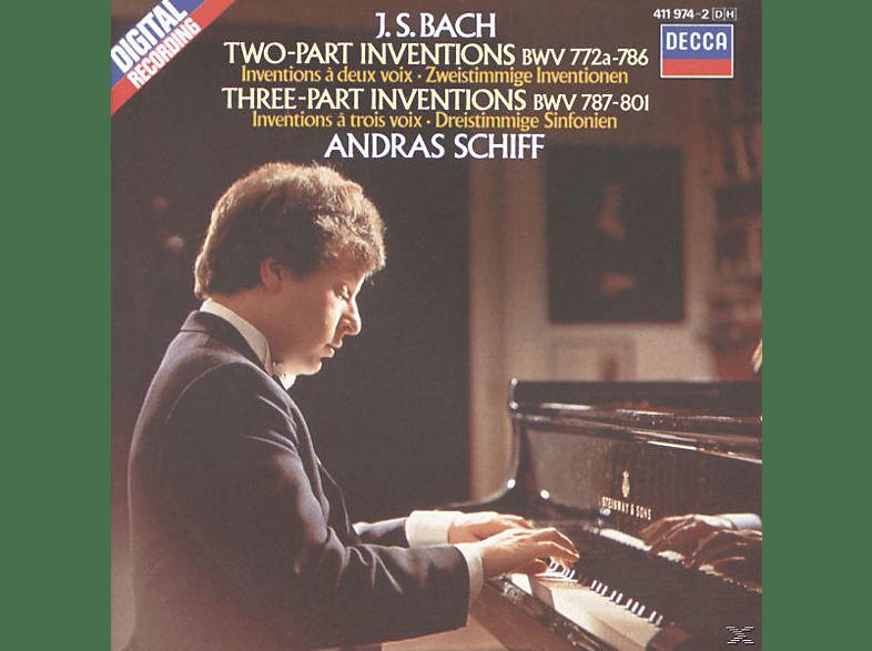 András Schiff - 2+3 Inventionen Bwv 772-801 [CD]