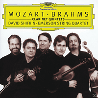 Emerson String Quartet, Shifrin/Emerson String Quart. - KLARINETTENQUINTETT (BRAHMS KLARINETTENQUINTETT) [CD]