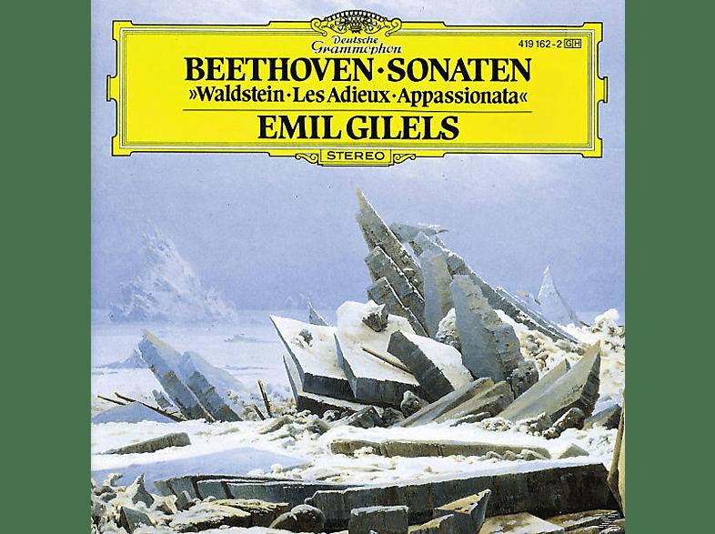 Emil Gilels - Klaviersonaten 21, 23, 26 [CD]