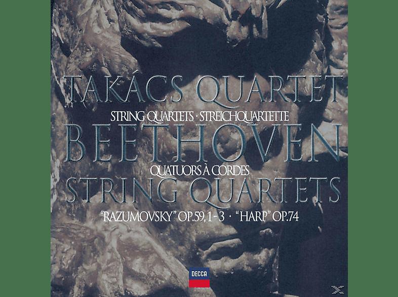 Takacs Quartet - STREICHQUARTETTE OP.59/74 [CD]