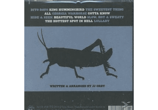 Jj Grey - Georgia Warhorse  - (CD)