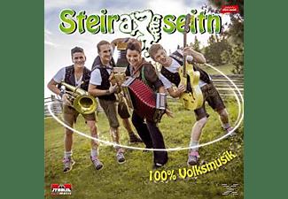 Steiraseitn - 100% Volksmusik  - (CD)
