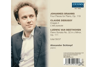 Alexander Schimpf - Klavierwerke  - (CD)