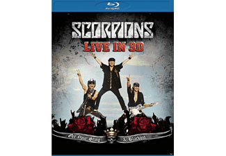Scorpions - Get Your Sting And Blackout - Live In 3d  - (Blu-ray)