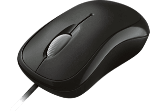 MICROSOFT NEW BASIC OPTICAL MOUSE BLACK - Maus (Schwarz)