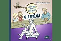 Professor Dur und die Notendetektive 03: W. A. Mozart - (CD)