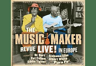 DR.BURT/COHEN,PAT/TIGNER,EDDIE/ALABAMA SLIM/WHITE, - The Music Maker Revue Live In Europe  - (CD)