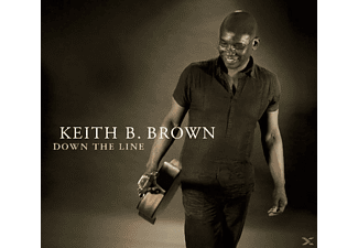 Keith B. Brown - Down The Line  - (CD)