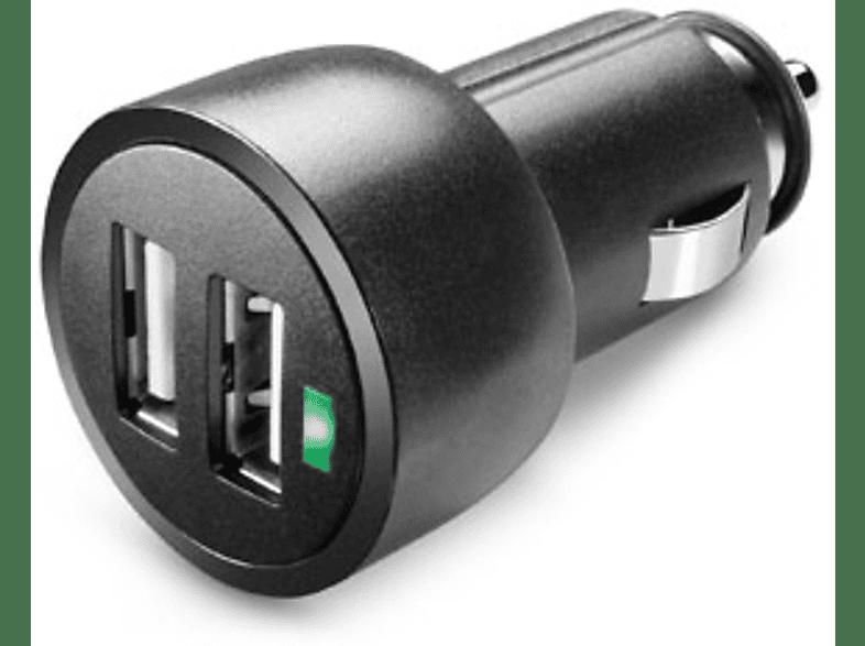 CELLULAR LINE Chargeur voiture à double prise USB (MICROCBRUSBDUAL3A)