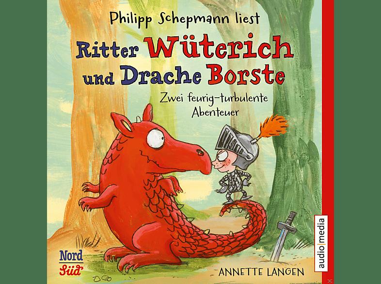 Ritter Wüterich und Drache Borste. Zwei feurig-turbulente Abenteuer - (CD)