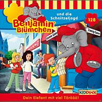 Benjamin Blümchen - Folge 128: Und Die Schnitzeljagd  - (CD)