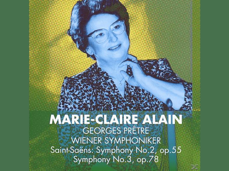VARIOUS - Saint-Saens: Symphonies 2 & 3 [CD]
