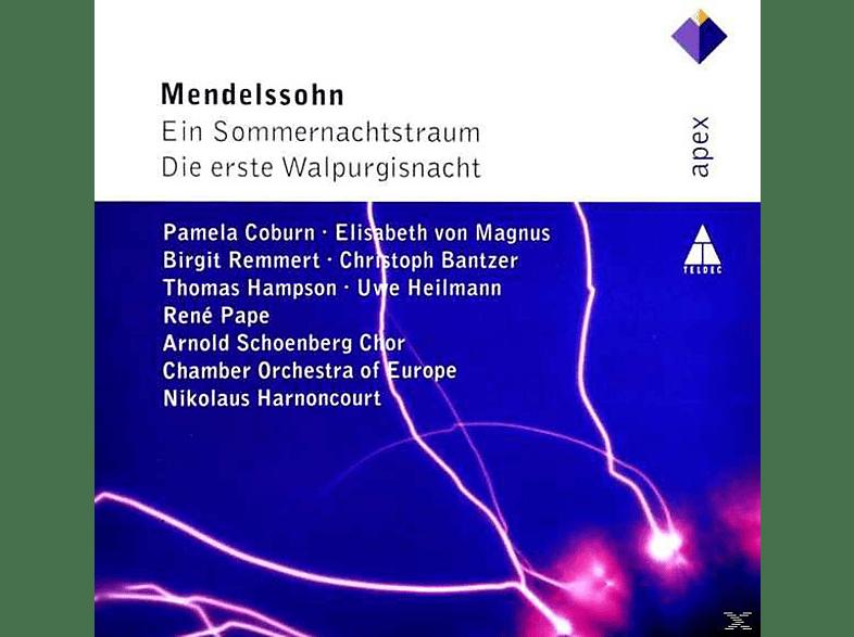 Coe, Schönberg Chor, Harnoncourt - Ein Sommernachtstraum/Die Erste Walpurgisnacht [CD]
