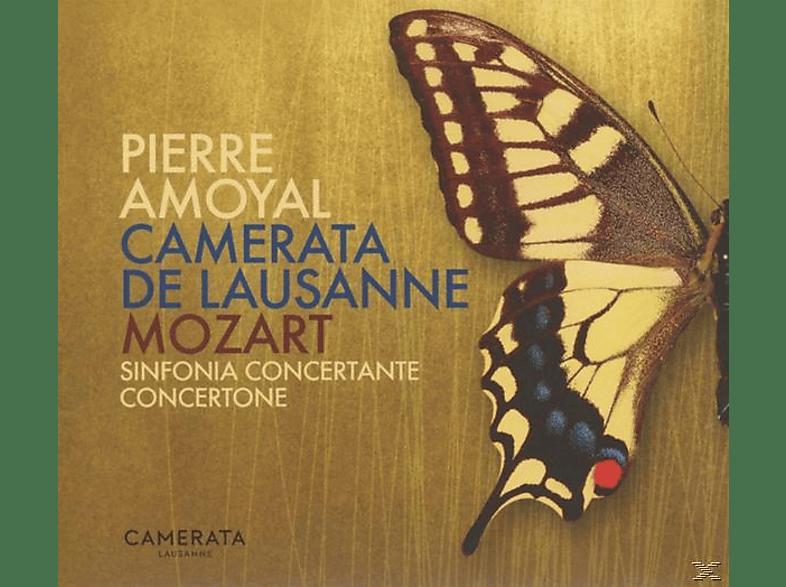 Camerata De Lausanne, Pierre Amoyal - Sinfonia Concertante & Concertone [CD]