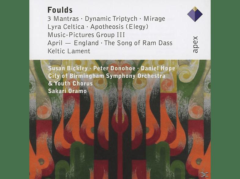 City Of Birmingham Symphony Orchestra - 3 Mantras/Dynamic Triptych/Mirage/Apotheosis [CD]