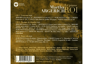Martha Argerich, Ranaud Capucon, Charles Dutoit - Martha Argerich-Le Piano Roi  - (CD)