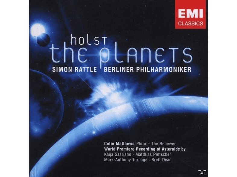 Simon Rattle - The Planets [CD]