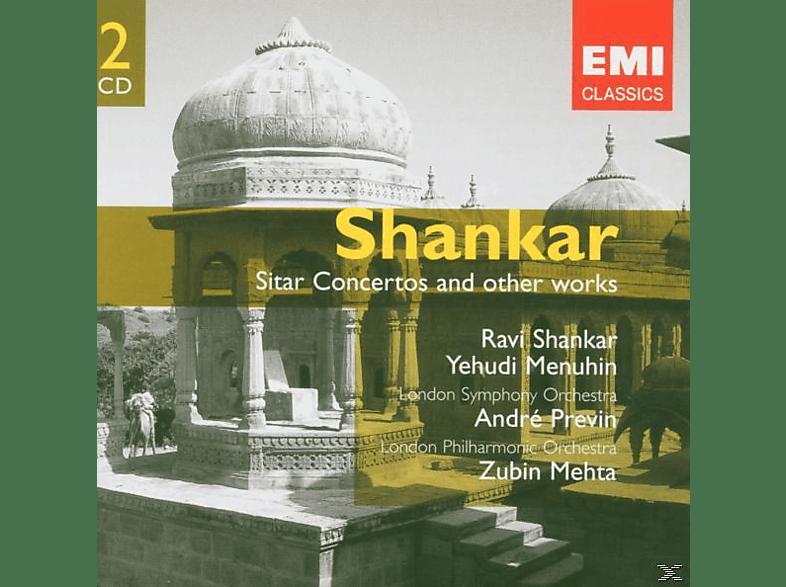 Ravi Shankar, VARIOUS, Menuhin, Lpo, Lso - Sitar Konzerte 1+2 (Ex Df) [CD]