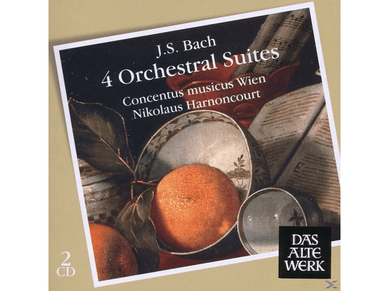 VARIOUS - Orchestral Suites 1-4 [CD]