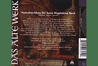 Tragicomedia - Notenbüchlein Für Anna Magdalena Bach [CD]