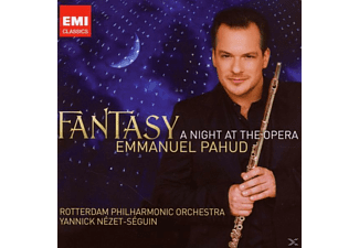Emmanuel Pahud, Rotterdam Philharmonic Orchestra, Yannick Nezet Seguin - Fantasy: A Night At The Opera - (CD)