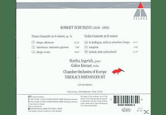 Nikolaus Harnoncourt, Kremer, Argerich - Violinkonzert/Klavierkonzert  - (CD)