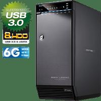 FANTEC 1696 QB-X8US3-6G