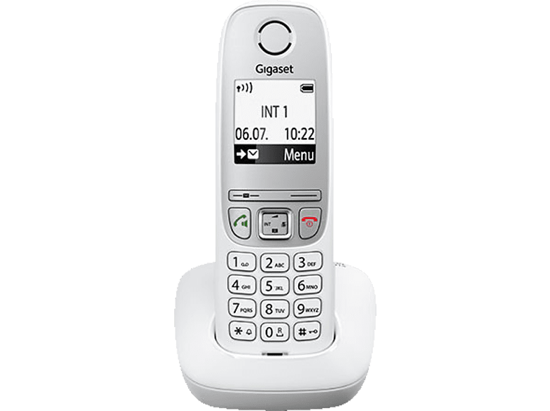 GIGASET Téléphone sans fil A415 Blanc Mono (S30852-H2505-E102)