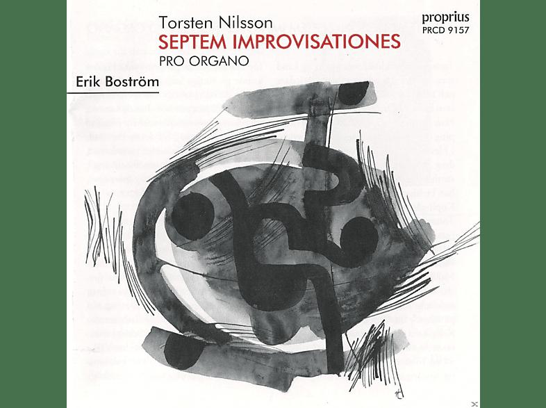 Erik Bostrom - Septem Improvisationes Pro Organo [CD]