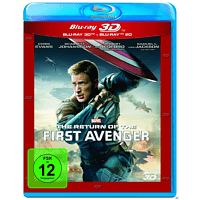 Captain America 2 - The Return of the First Avenger (3D & 2D BD Edition) [3D Blu-ray (+2D)]