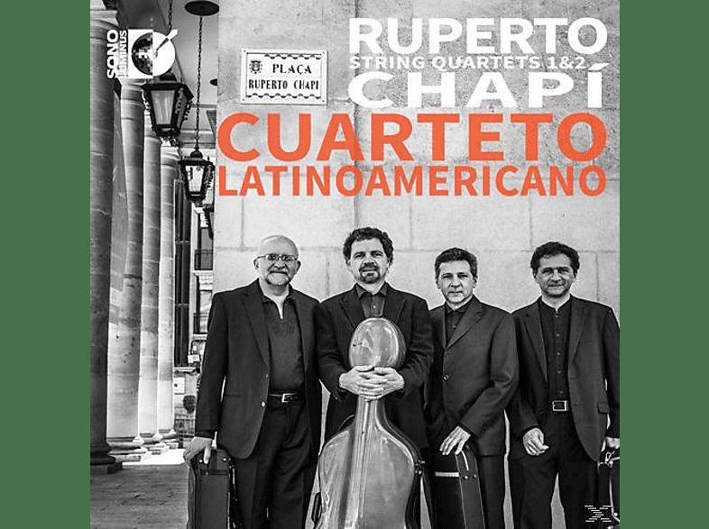 Cuarteto Latinoamericano - Streichquartette 1+2 [CD]