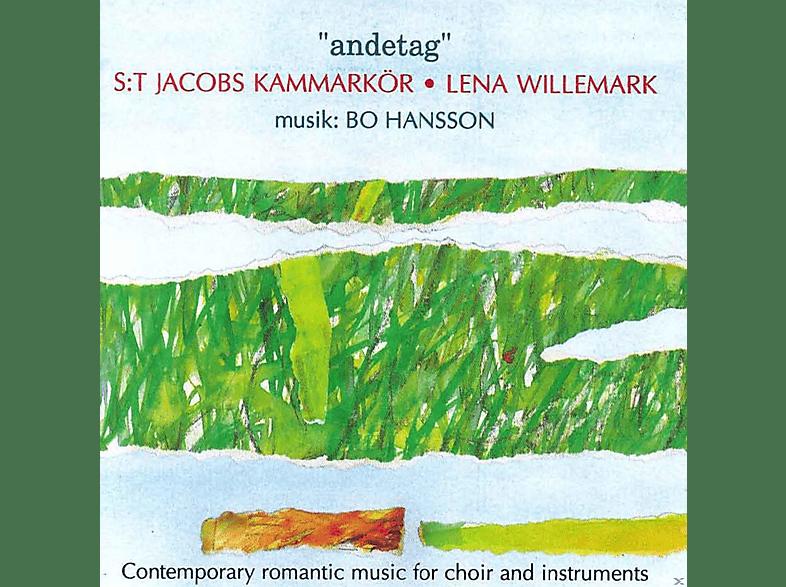 St.Jacobs Kammarkör, Lena Willemark - Andetag [CD]