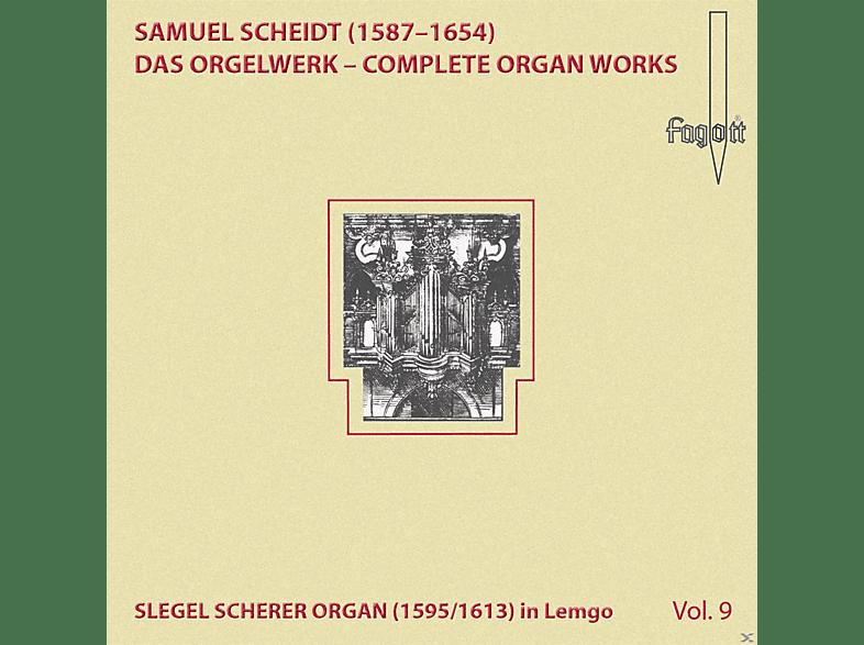 Volker Janig - Scheidt Organ Works Vol.9 [CD]