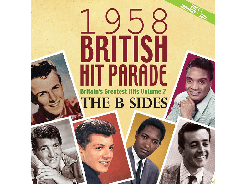 VARIOUS - The 1958 British Hit Parade: The B Sides Part 1 [CD]
