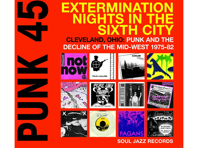 VARIOUS - Punk 45:Extermination Nights In The Sixth City [LP + Download]