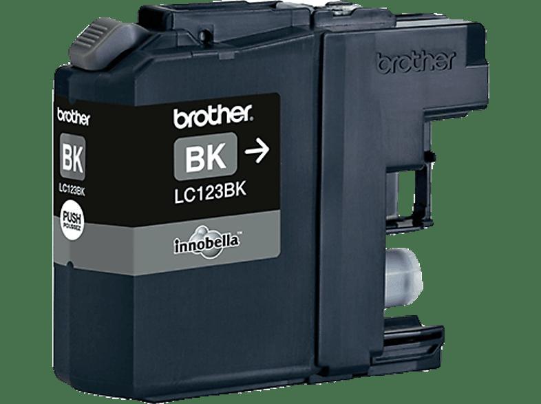BROTHER LC 123 BK Tintenpatrone Schwarz (LC-123BK)