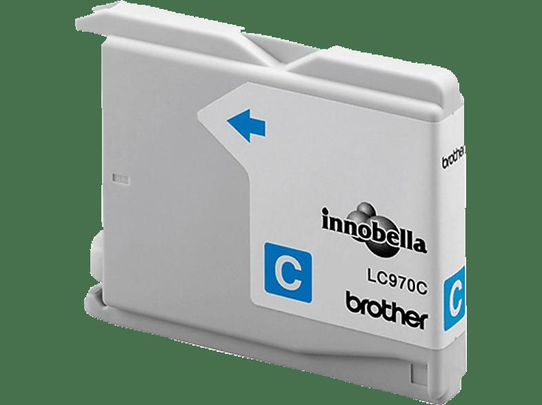 BROTHER Original Tintenpatrone Cyan (LC-970C)