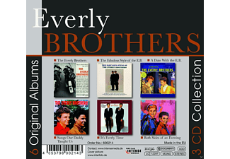 The Everly Brothers - 6 Original Albums  - (CD)