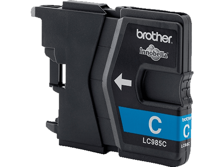 BROTHER Original Tintenpatrone Cyan (LC-985C)